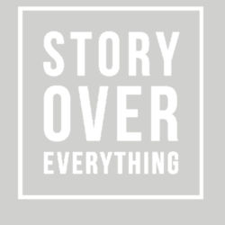 Story Over Everything - Fleece Crew neck Sweatshirt Design