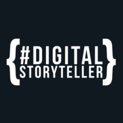 #DigitalStoryteller - Cotton Adult Tee Design