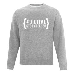 Story Over Everything - Fleece Crew neck Sweatshirt 2 Thumbnail