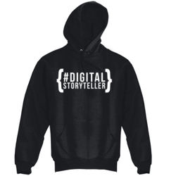 #DigitalStoryteller - Fleece Hoodie Thumbnail