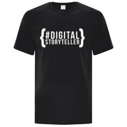 #DigitalStoryteller - Cotton Adult Tee Thumbnail